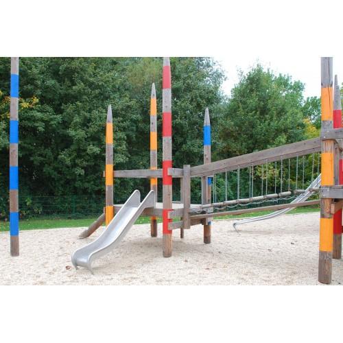 Bild 3: Mikado-Spielplatz