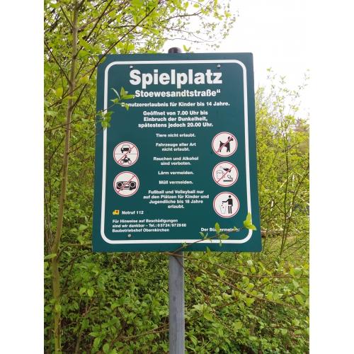 Bild 1: Spielplatz Stoevesandtstraße