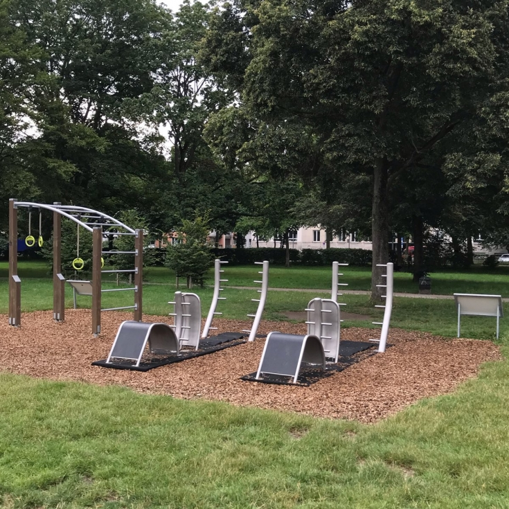 Bild 1: Outdoor-Fitness im Lohsepark