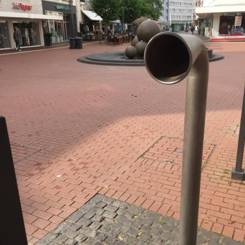 Bild 1: Rohrtelefon Kreuzplatz