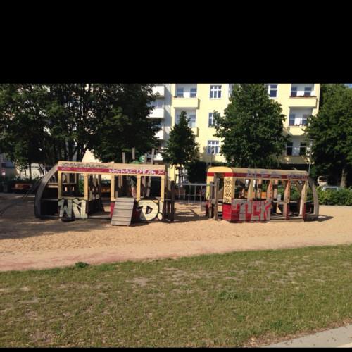 Bild 1: S-Bahn Spielplatz