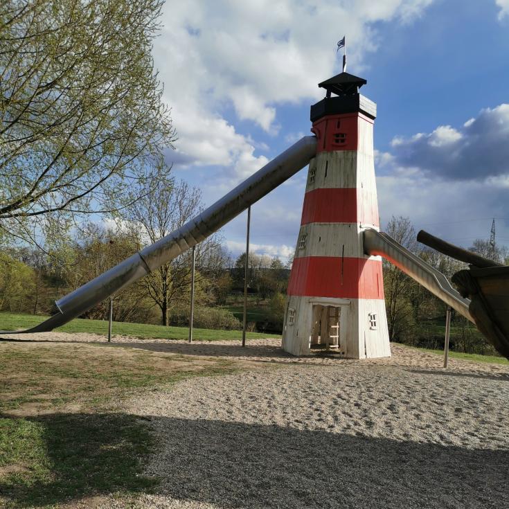 Bild 1: Spielplatz im Saargarten