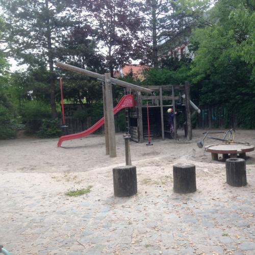 Bild 1: Spielplatz Vogesenstraße