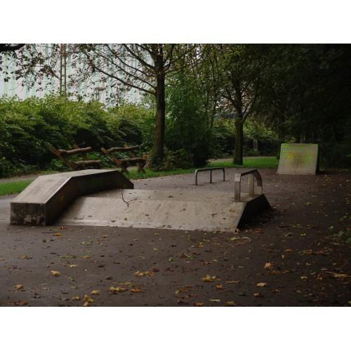 Bild 1: Skateboard-Anlage Hohenlimburger Str.