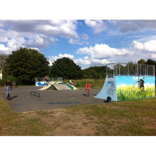 Bild 1: Skatepark am Ploggensee
