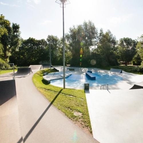 Bild 1: Skatepark Leherheide