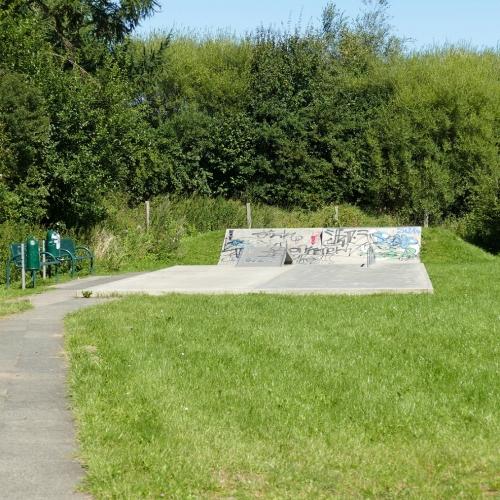 Bild 1: Skateplatz