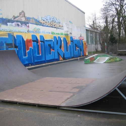 Bild 1: Skateanlage Bahnhofstraße