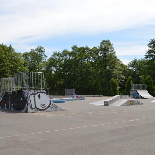Bild 1: Skaterpark am Rosentunnel