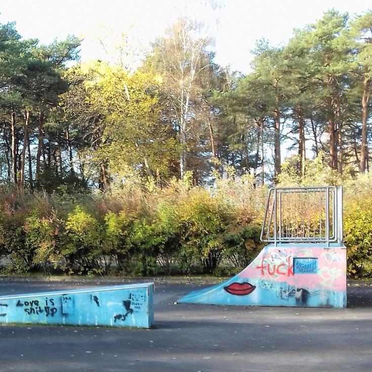 Bild 1: Skateplatz am Freibad Müllrose