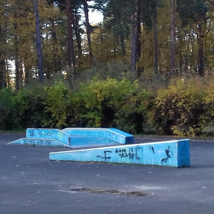 Bild 2: Skateplatz am Freibad Müllrose
