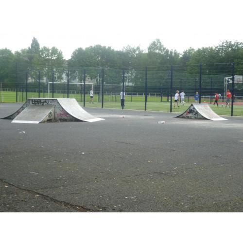 Bild 2: Skaterplatz am Sportplatz