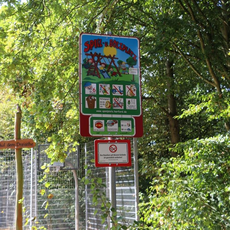 Bild 11: Spiel- und Bolzplatz Auf dem Dreische