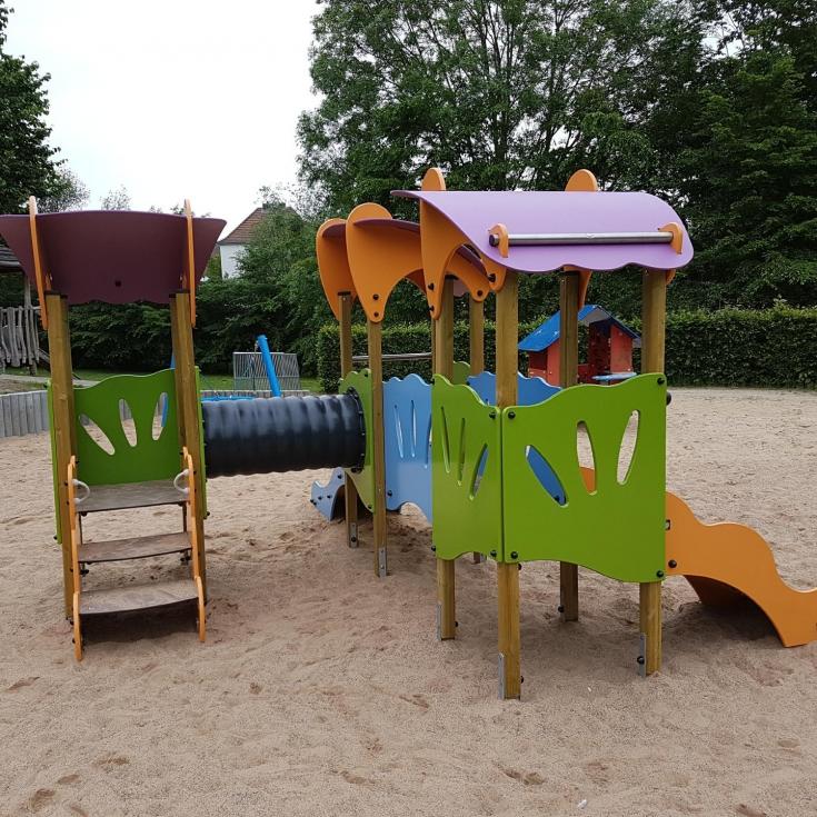 Bild 35: Spiel- und Bolzplatz im Kleinen Feld