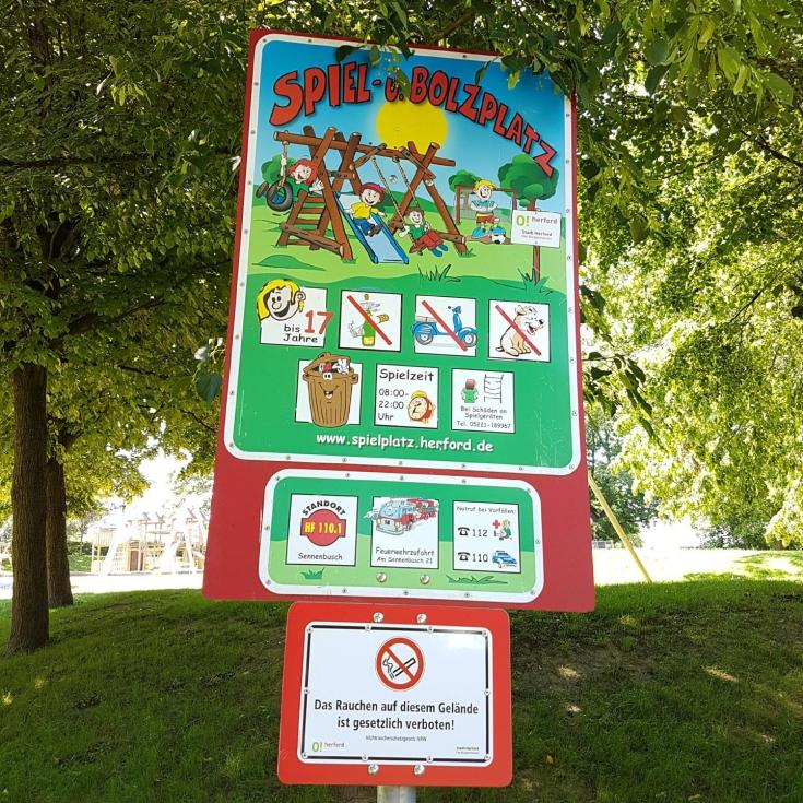 Bild 28: Spiel- und Bolzplatz Sennenbusch