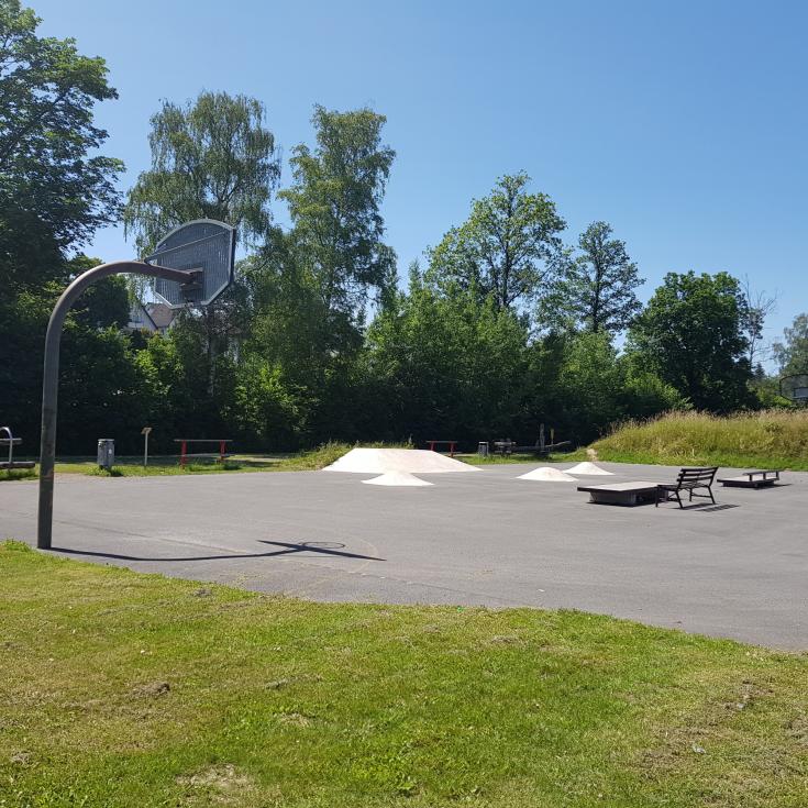 Bild 1: Skate- und Bolzplatz