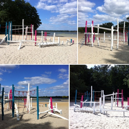 Bild 1: Spielplatz am Barracuda Beach