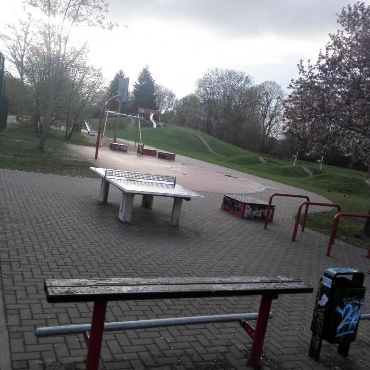 Bild 2: Spielplatz am Europaring