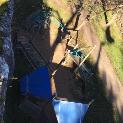 Bild 1: Spielplatz am Galgenturm