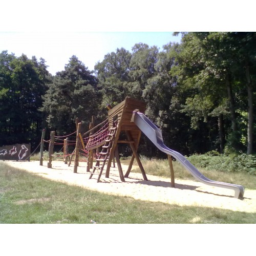 Bild 1: Spielplatz am Heidhof