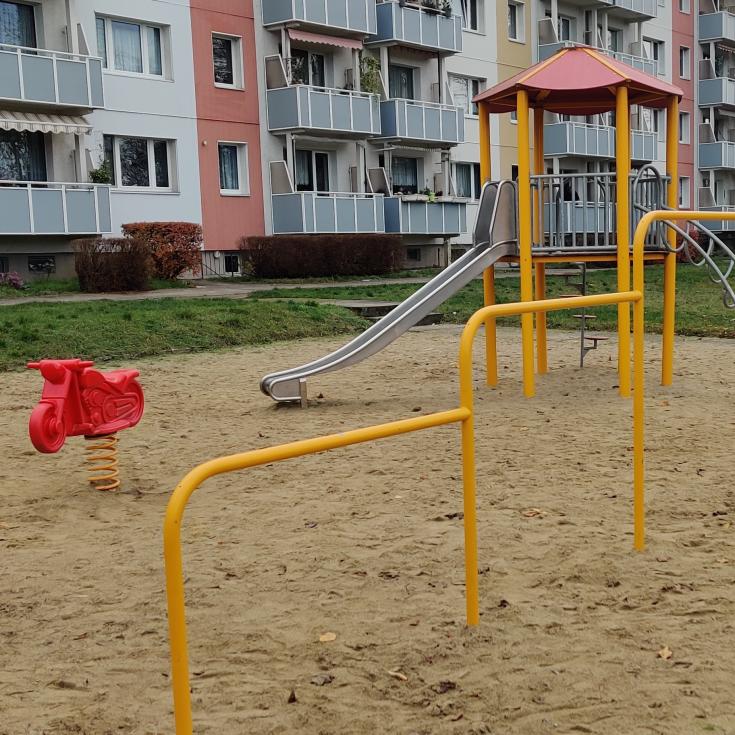 Bild 1: Spielplatz am Kupferschmiedegang