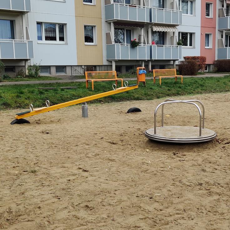 Bild 4: Spielplatz am Kupferschmiedegang