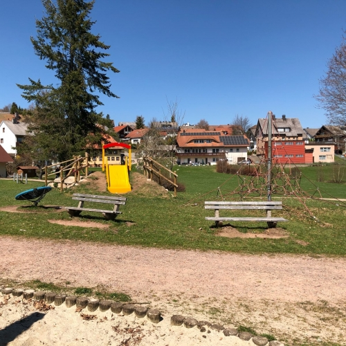 Bild 4: Spielplatz am Kurzentrum