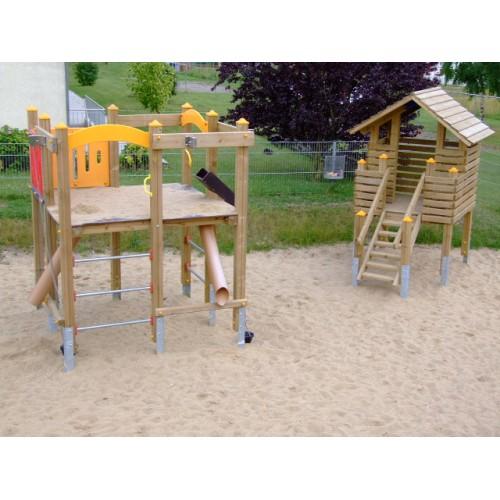 Bild 4: Spielplatz am tegut...