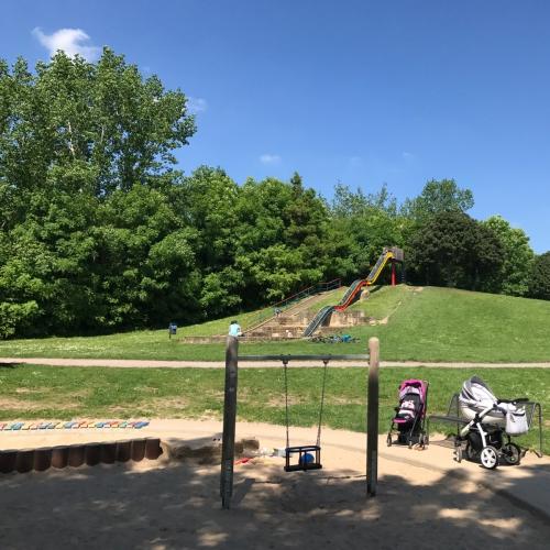 Bild 3: Spielplatz an der Gera