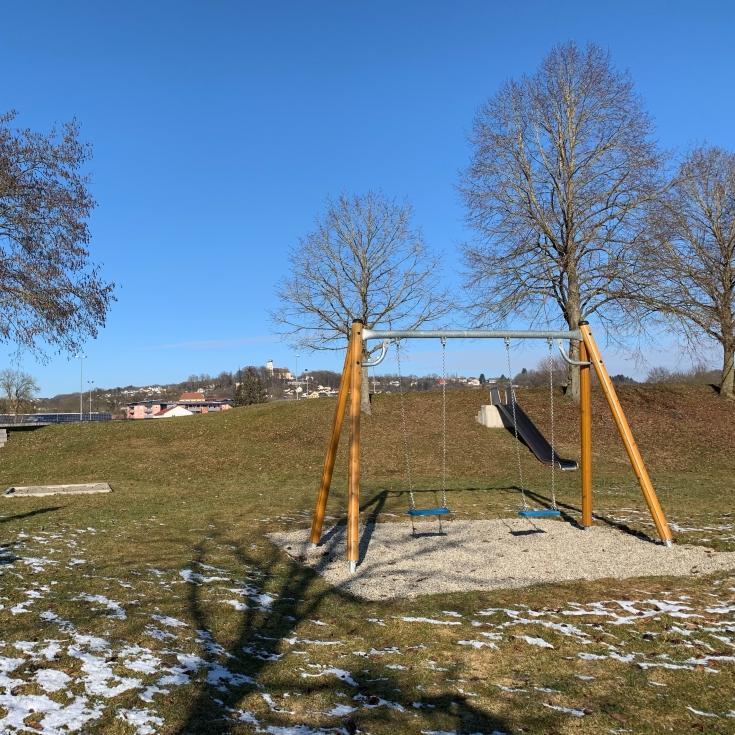 Bild 1: Spielplatz an der Rennbahn