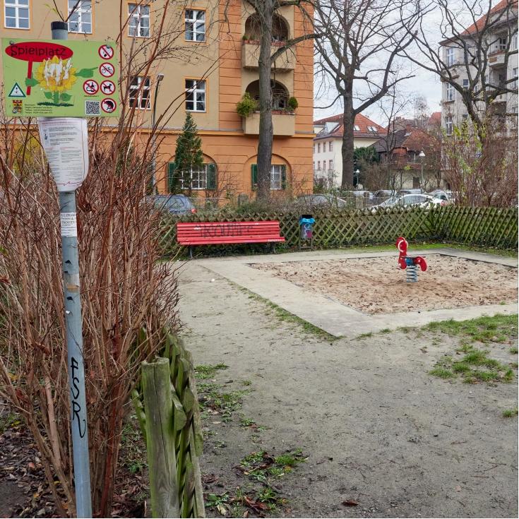 Bild 1: Spielplatz Asternplatz