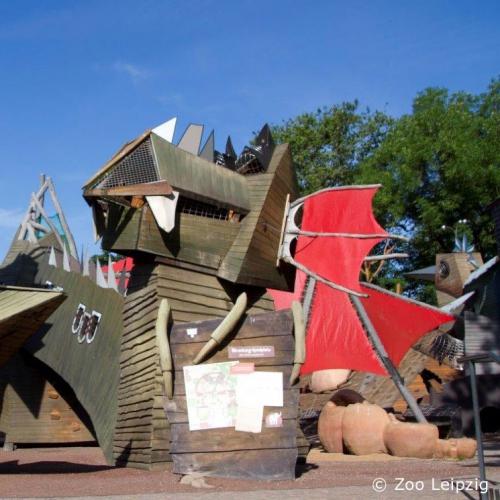 Bild 1: Spielplatz Bärenburg im Zoo Leipzig