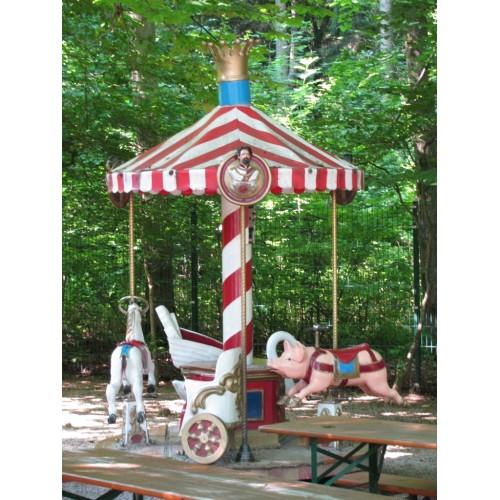 Bild 3: Spielplatz Biergarten Waldheim