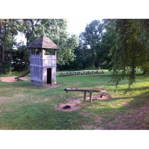 Bild 2: Spielplatz Freilichtmuseum Groß Raden
