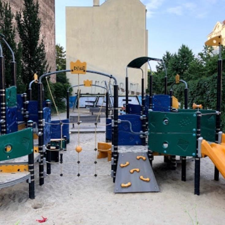 Bild 1: Spielplatz Herbertstraße 7