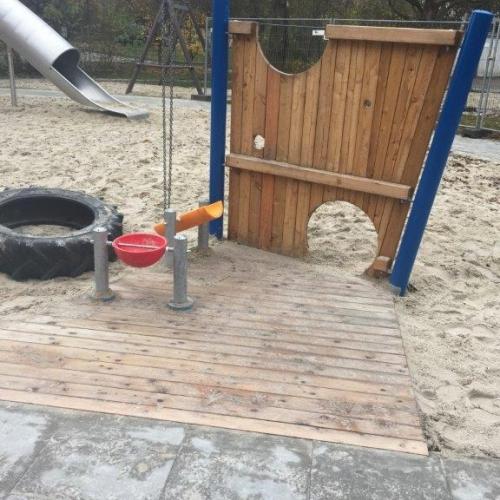 Bild 4: Spielplatz Hermann-Reske-Schule und  Kita