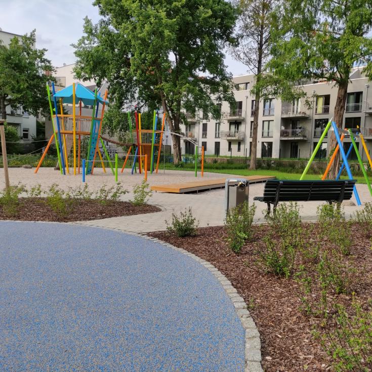 Bild 1: Spielplatz Paule-Park