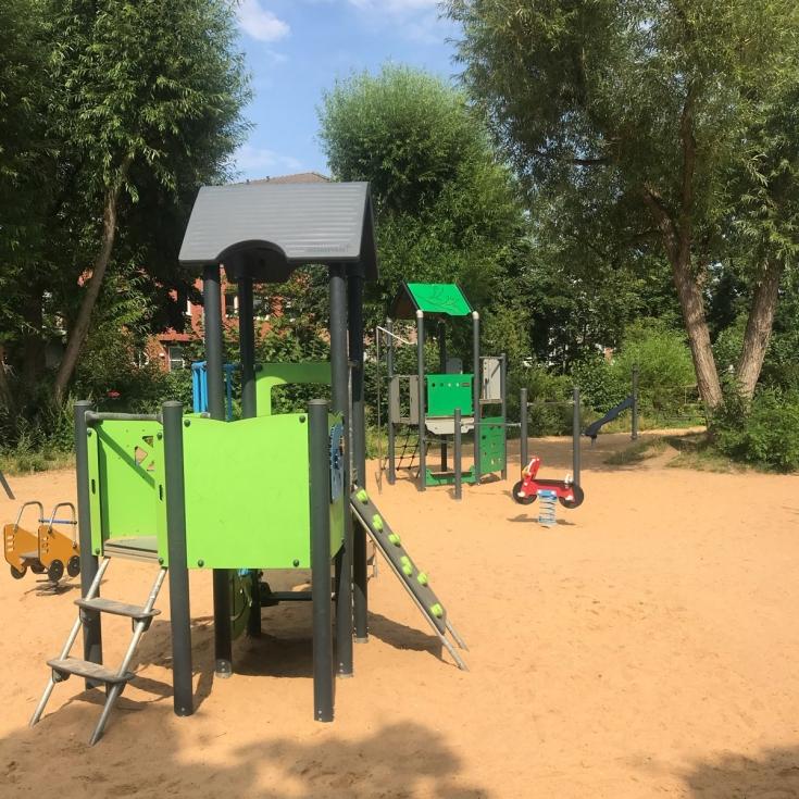 Bild 1: Spielplatz im Böckingpark