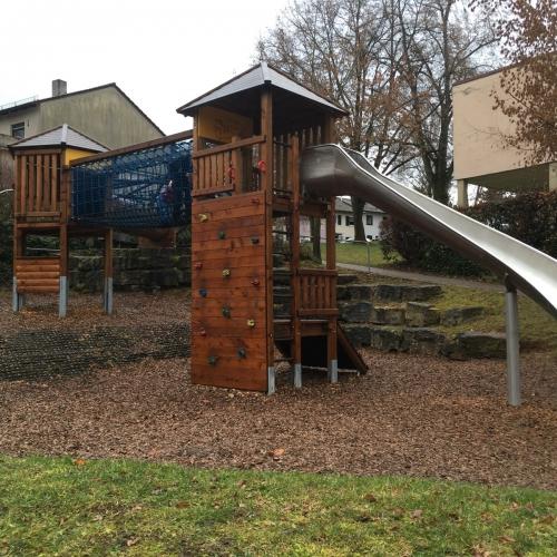 Bild 1: Spielplatz im Hörnle