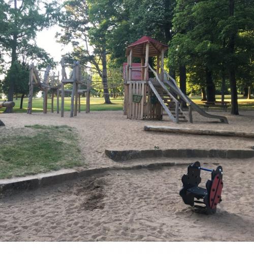 Bild 1: Spielplatz im Hofgarten