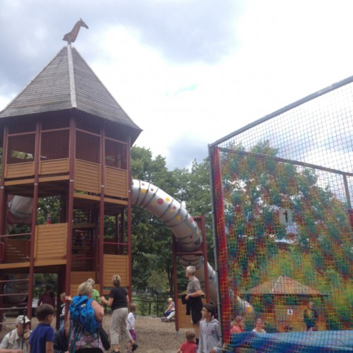spielplatz im opel zoo in kronberg im taunus