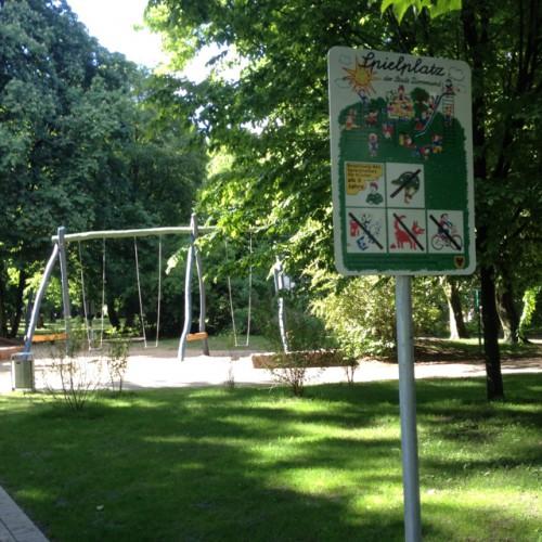 Bild 1: Spielplatz im Westpark