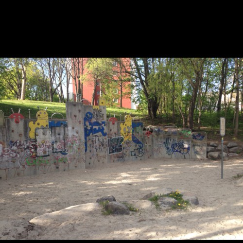 Bild 3: Spielplatz im Wohngebiet