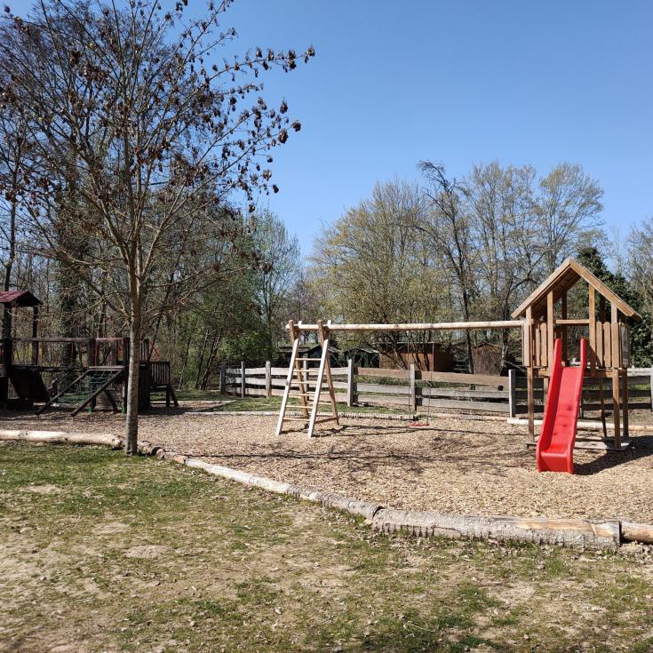 Bild 1: Spielplatz im Zeitwald