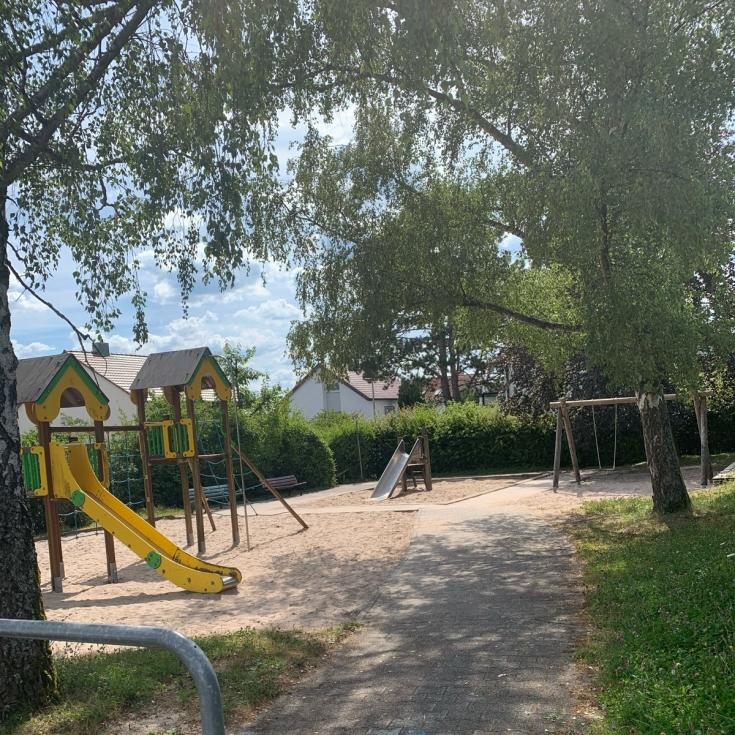 Bild 1: Spielplatz Lerchenstraße