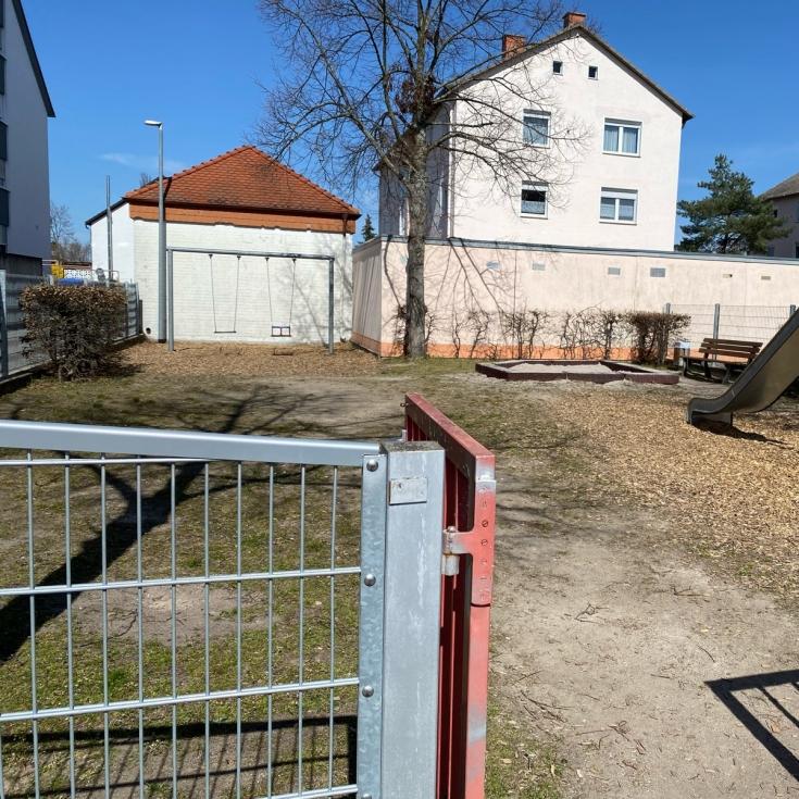 Bild 1: Spielplatz Maxburgstraße