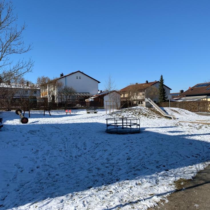 Bild 1: Spielplatz Mooshof