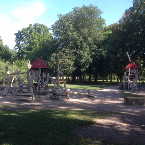 Bild 1: Spielplatz Schlossgarten