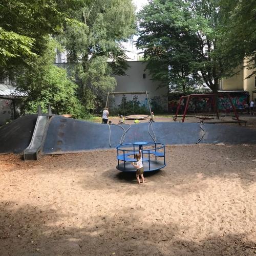 Bild 1: Spielplatz Sillemstraße