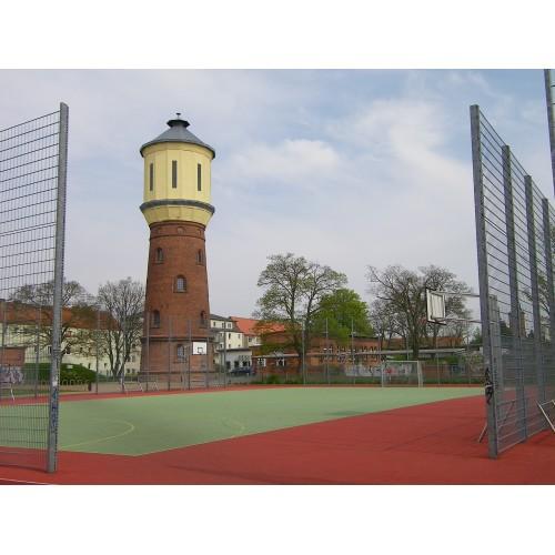 Bild 5: Sportplatz am alten Wasserturm